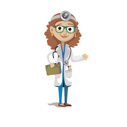 Doctor profession cartoon.svg