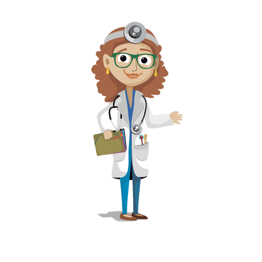 Doctor profession cartoon.svg Transparent PNG