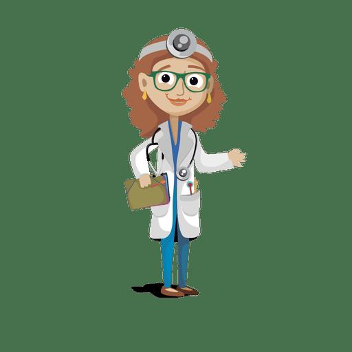 Doctor profession cartoon.svg