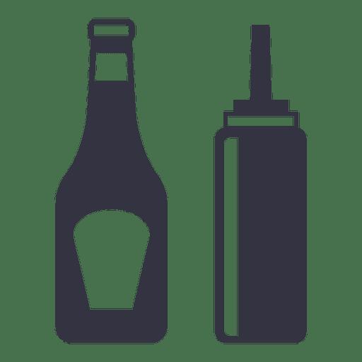 Beber vino icono plana Transparent PNG