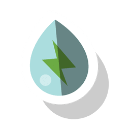 Droplet energy sticker.svg
