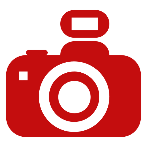 Silueta de la cámara réflex digital Transparent PNG