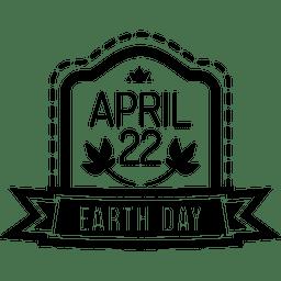 emblema día de la tierra