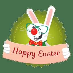 Ostern Hase Nachricht Banner