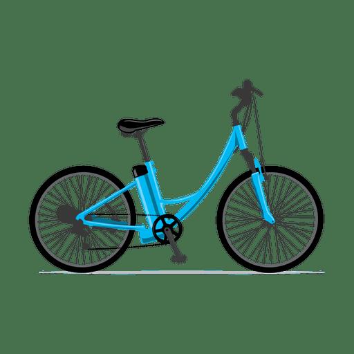 Bicicleta eléctrica.svg Transparent PNG