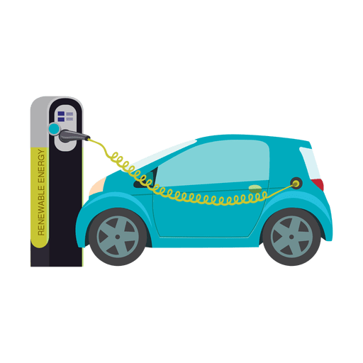 Electric car charging.svg Transparent PNG