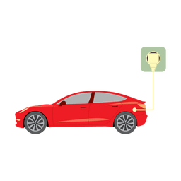 Electric car plug