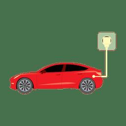 Plugue do carro elétrico