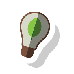 Energy bulb sticker.svg
