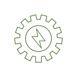 Two Gear Icon Transparent Png Svg Vector File