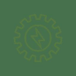 Linha de engrenagem de energia icon.svg