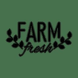 Bauernhof frisches Etikett 2.svg
