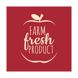 Farm fresh label.svg