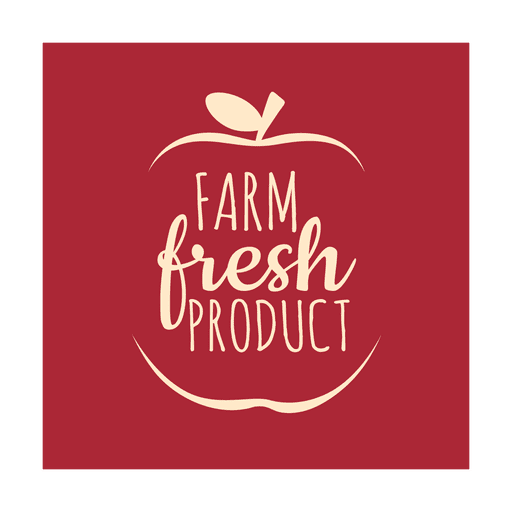 Farm fresh label.svg Transparent PNG