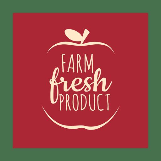 Fazenda fresca label.svg Transparent PNG