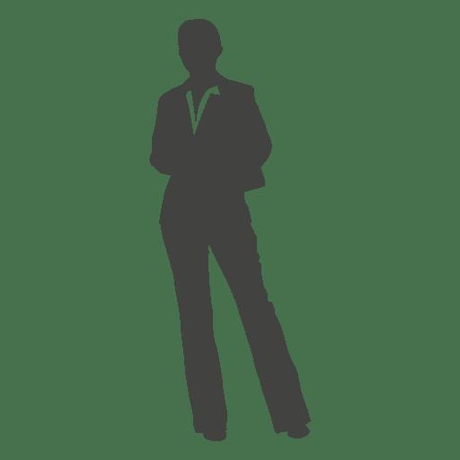 standing businessman silhouette cartoon royalty free - 512×512