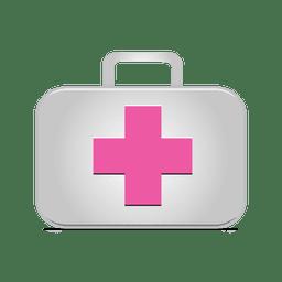 Ícono de maletín de primeros auxilios