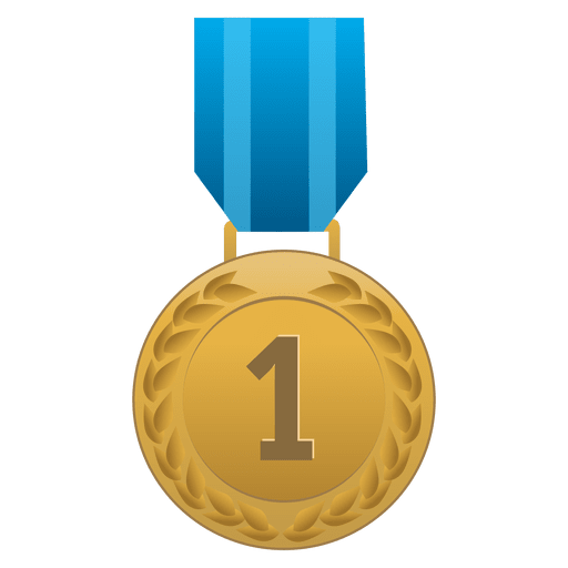 First place medal Transparent PNG