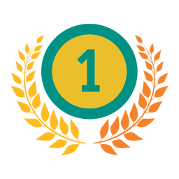 First rank badge olympic