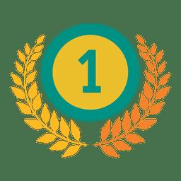 Primeiro grau emblema olímpico