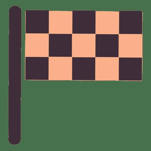 Bandera plana de carreras Transparent PNG
