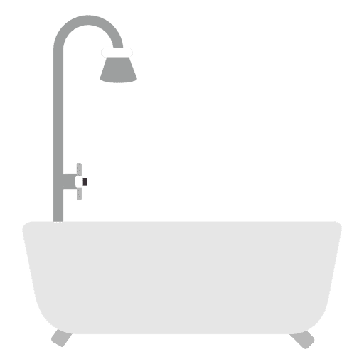 Flat bath tub shower Transparent PNG