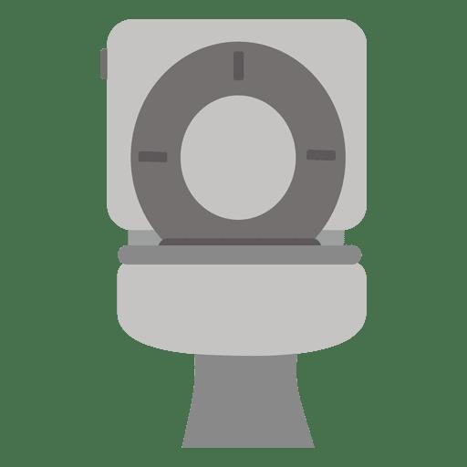 Flat bathroom commode icon