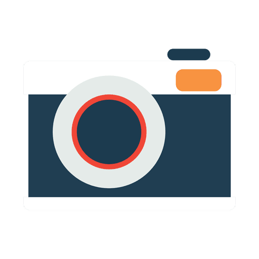 Flat and simple camera icon transparent png svg vector for Camera minimalista