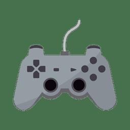 Ícone de controlador de jogos plana