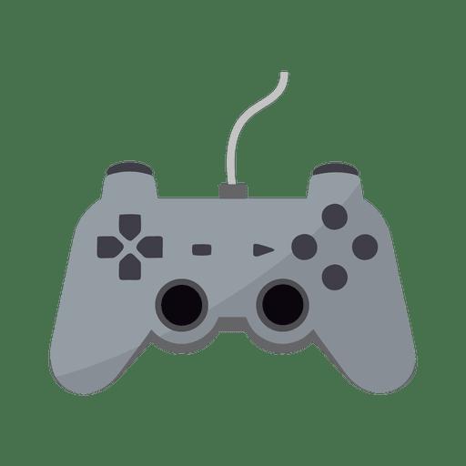Icono de controlador de juego plano Transparent PNG