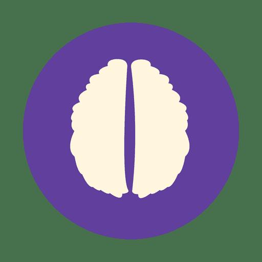 Signo plano del cerebro humano Transparent PNG