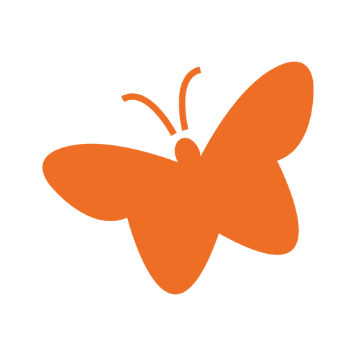 Flat st patrick butterfly Transparent PNG