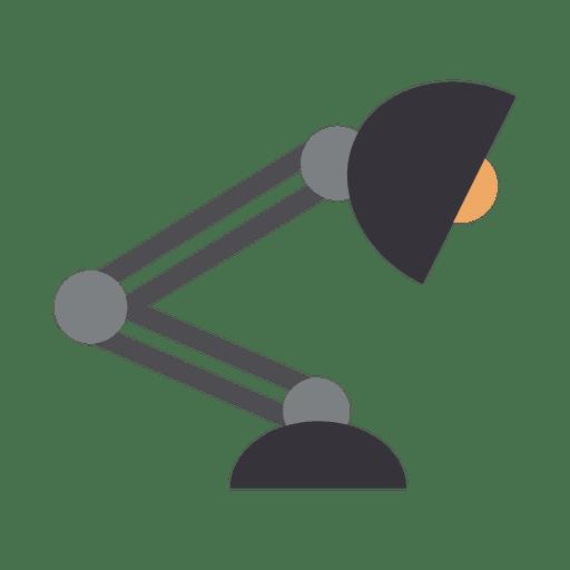 Ícone de luz de mesa plana Transparent PNG