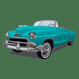 Fleetline retro glossy car