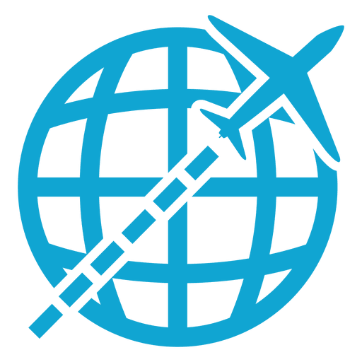 Flying Global Icon Transparent PNG