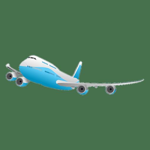Avión brillante volando Transparent PNG