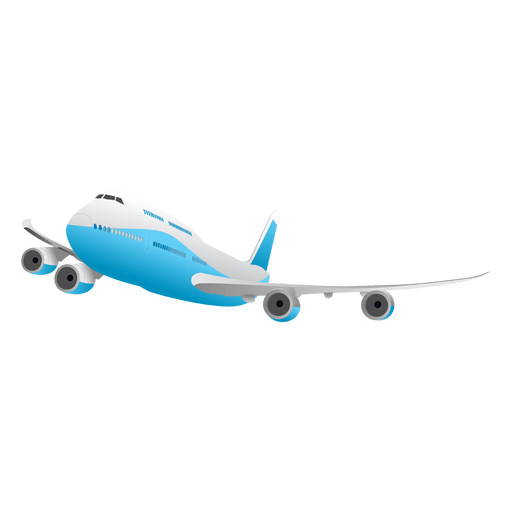 Flying Glossy Airplane Transparent Png Svg Vector