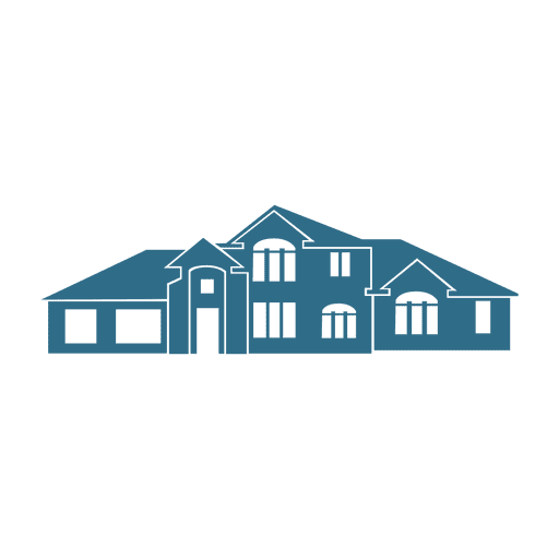 front home real estate icon transparent png amp svg vector