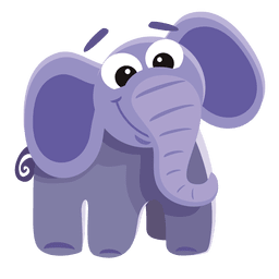 Lustiger Elefant-Cartoon