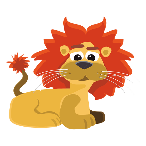 Historieta divertida del león