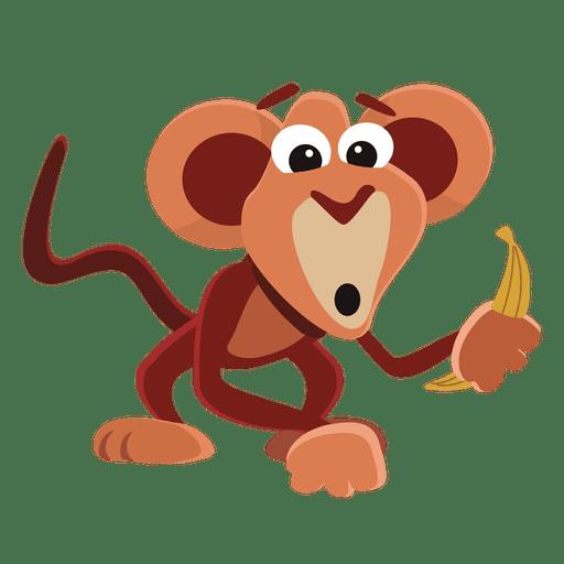 Historieta divertida del mono