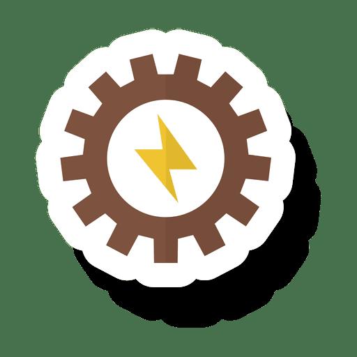 Gear energy sticker.svg