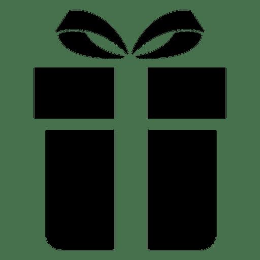 Icono plano de caja de regalo Transparent PNG