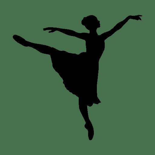 silhouette.svg danza de la muchacha - Descargar PNG/SVG ...
