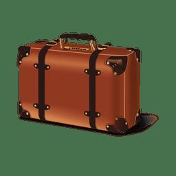 Glossy luggage