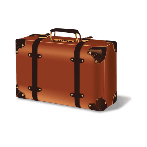 Glossy luggage - Transparent PNG & SVG vector