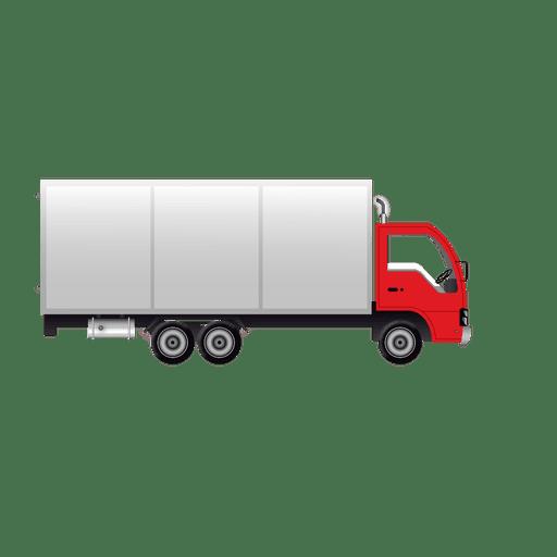 Camión de envío brillante Transparent PNG