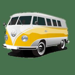 Ônibus de turismo brilhante