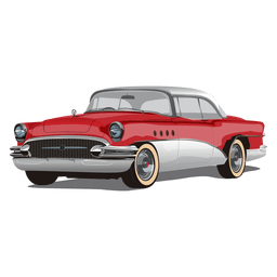 Carro chevrolet vintage brilhante