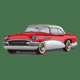 Glänzendes Vintage Chevrolet-Auto